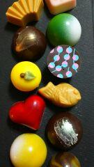 チョコがいっぱい