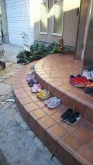 小さい靴がいっぱい