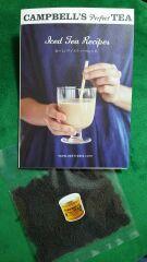 ミルクティーにして
