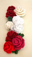 赤薔薇と白薔薇